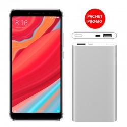 Pachet Promo Telefon mobil Xiaomi Redmi S2 dual SIM 3GB+32GB si Baterie externa Xiaomi Mi Power Bank 2 5000mAh